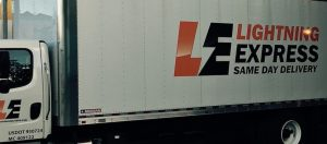 Lightning Express Delivery Truck