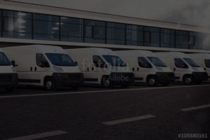 Routed Delivery Fleet Image - Lightning Express